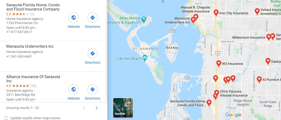 Cheap Home Insurance Sarasota FL - Best Companies & Quotes
